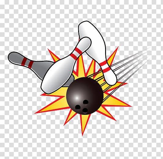 Bowling pin Ten.