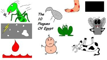 10 Plagues of Egypt (lessons, clipart & coloring pages.