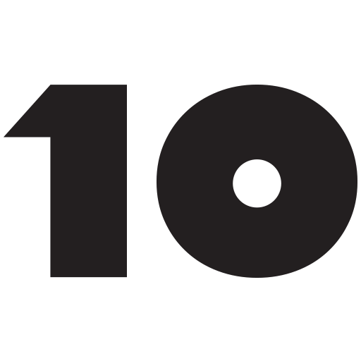 10 Number PNG Free Download.