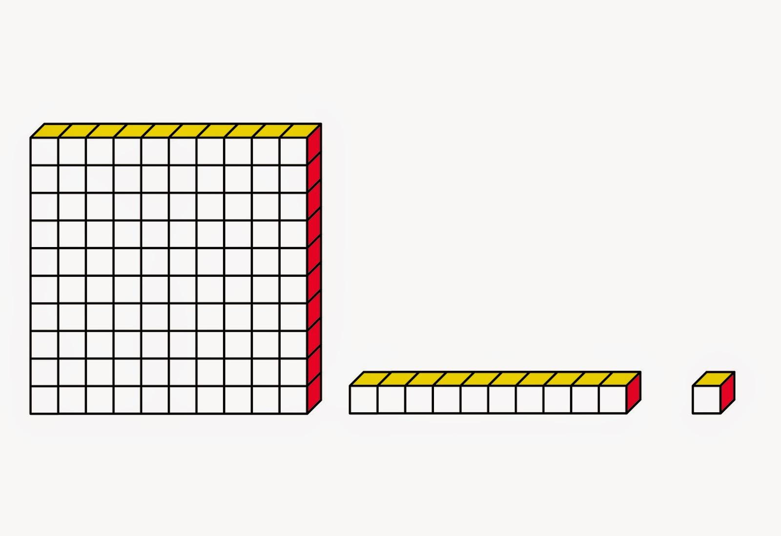 Base Ten Blocks Clip Art Group (+), HD Clipart.