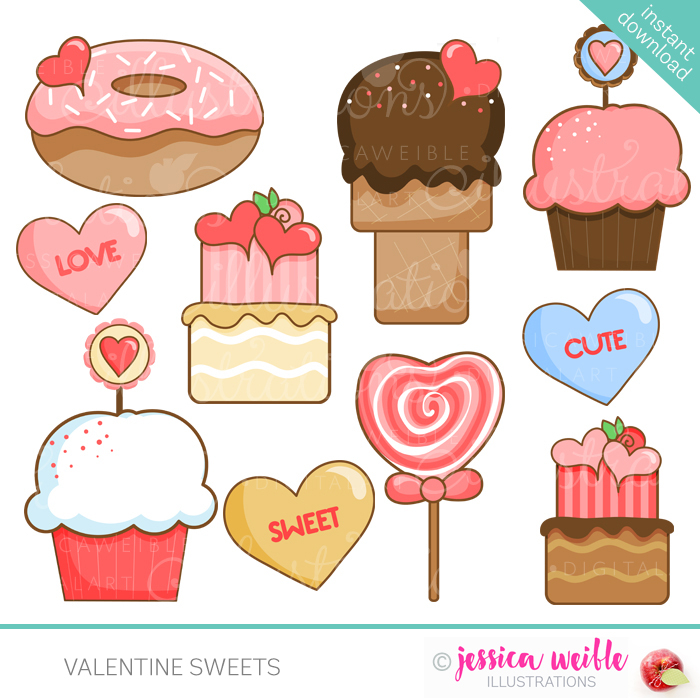 Valentine Sweets.