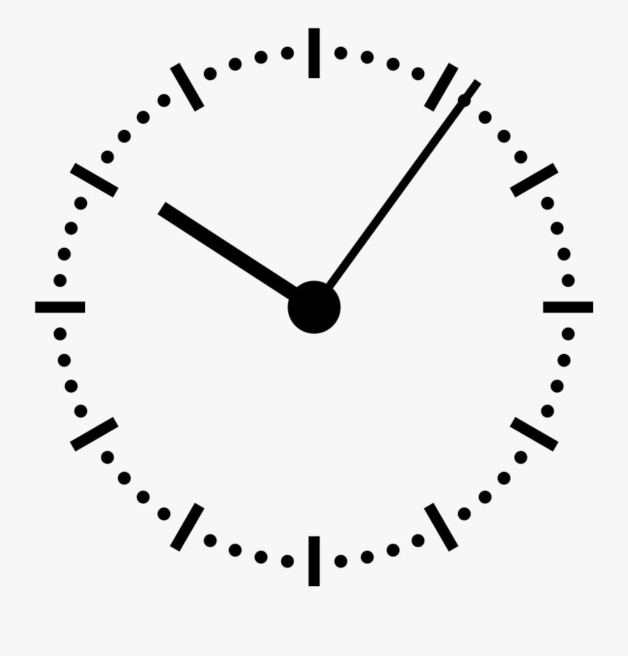 Transparent Analog Clock Png.