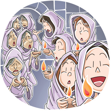 Christian clipArts.net _ Parable of the ten virgins.