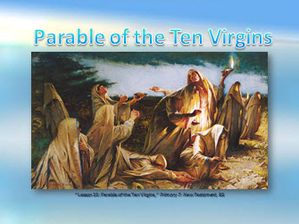 Parable of the Ten Virgins.