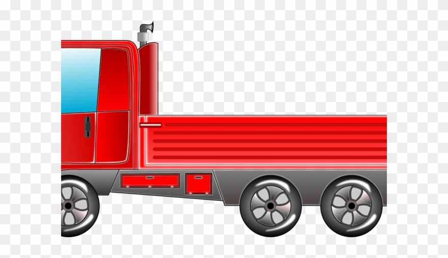 Cargo Truck Clipart 10 Wheeler Truck.