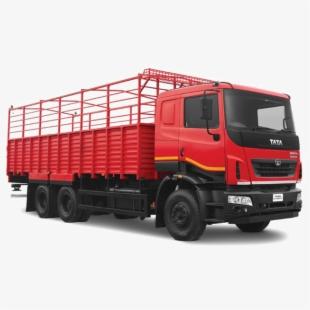 Tata 407 Truck Flat Side.