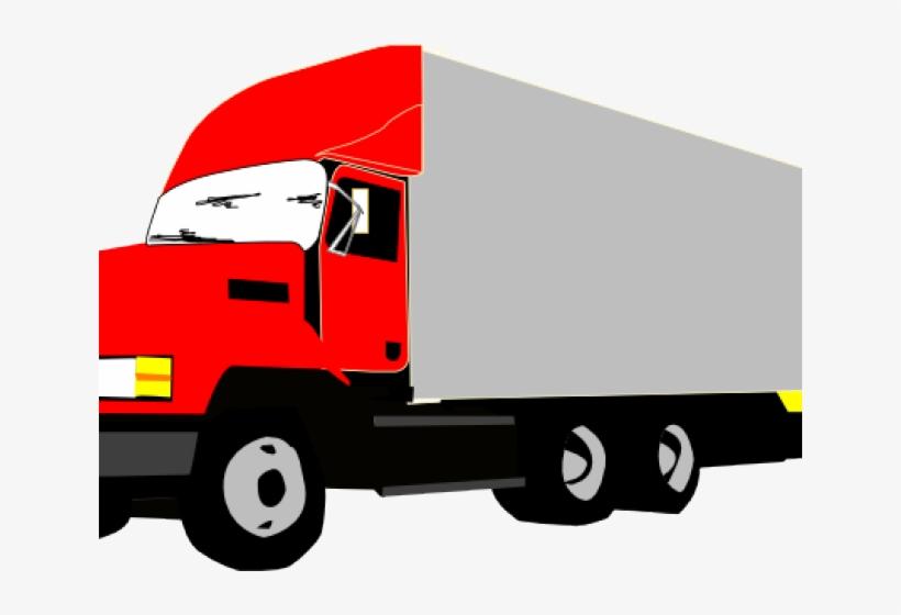Cargo Truck Clipart Shipping Truck.