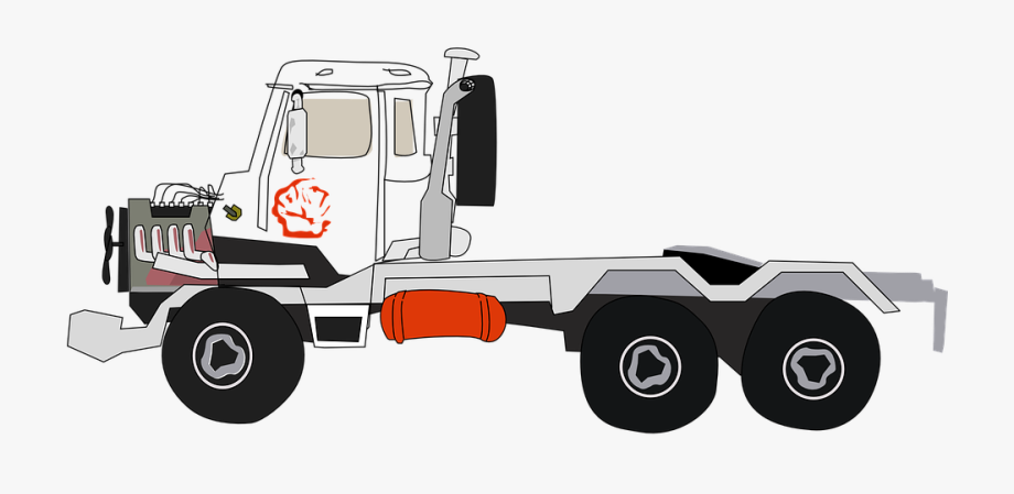 6 Wheeler Truck Clipart , Transparent Cartoon, Free Cliparts.