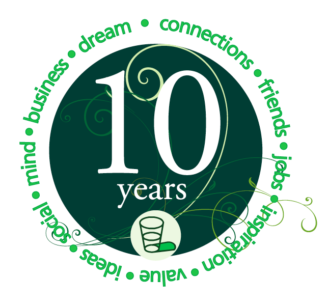 10 Year Anniversary Logo Design Contest official rules.