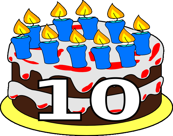 10th birthday party clip art clipart panda free clipart 10th.