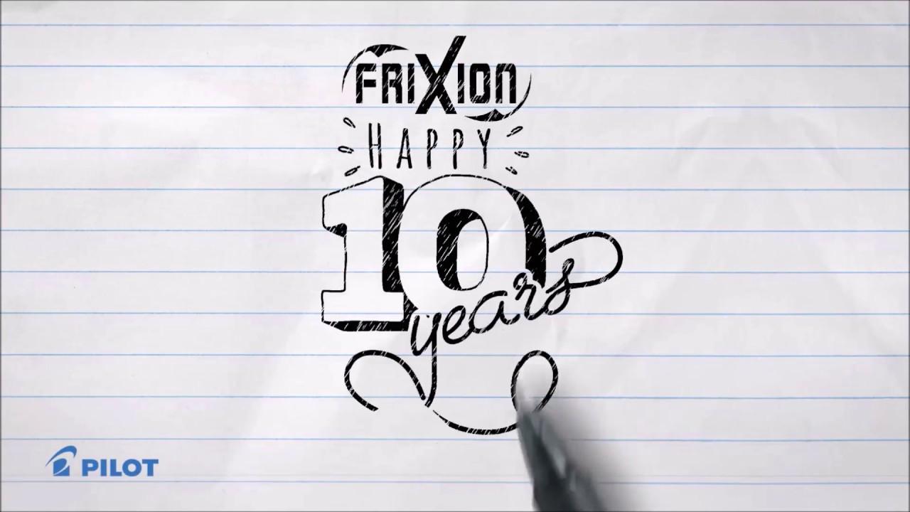 FriXion 10 Years Anniversary.