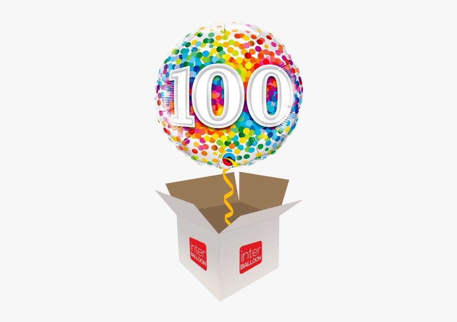 100 Rainbow Confetti.