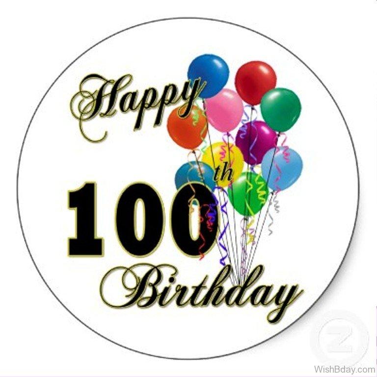 100 Birthday Clipart.