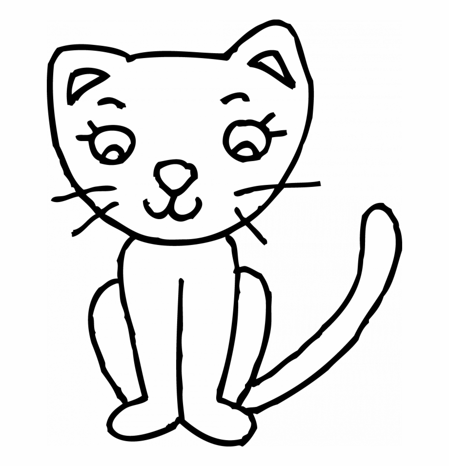 Permalink To 100 Latest Cat Clip Art Black And White.