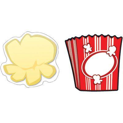 Popcorn Clip Art Border.