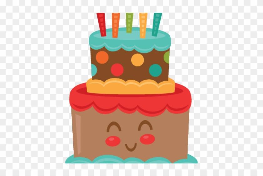 Birthday Cake Clipart Winter.