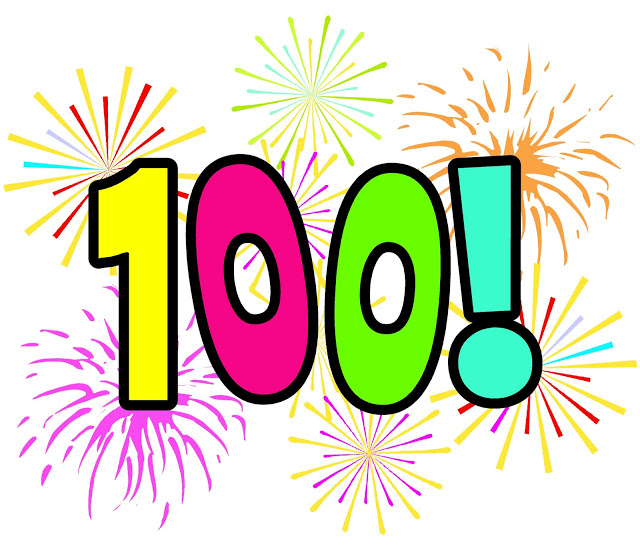 Number 100 Clipart.
