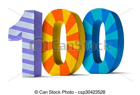 100 Clip Art.