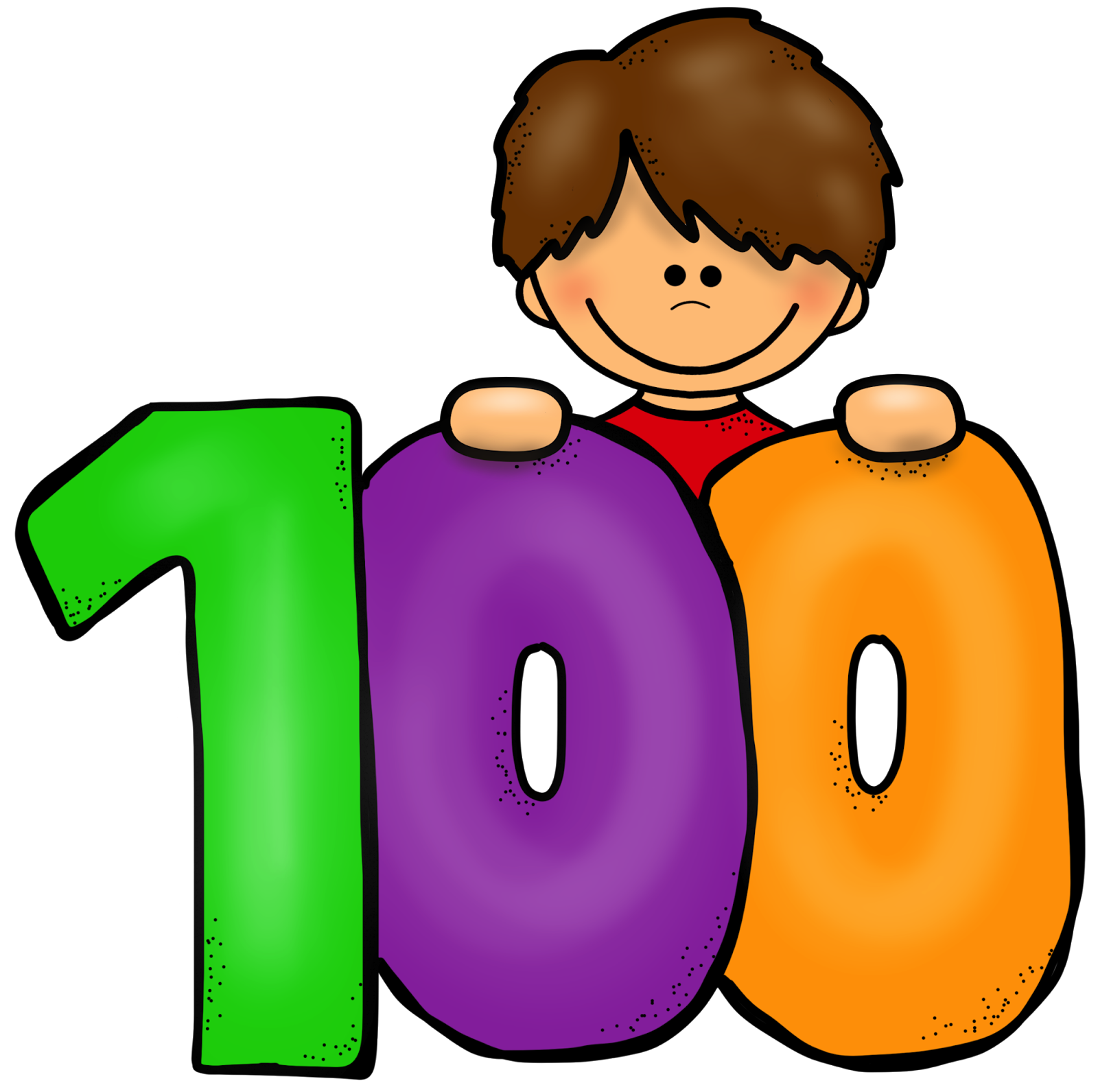 100th Day Of School Clipart Png.