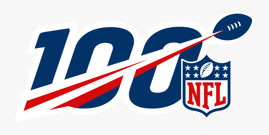 Nfl 100 Year Logo Clipart , Png Download.