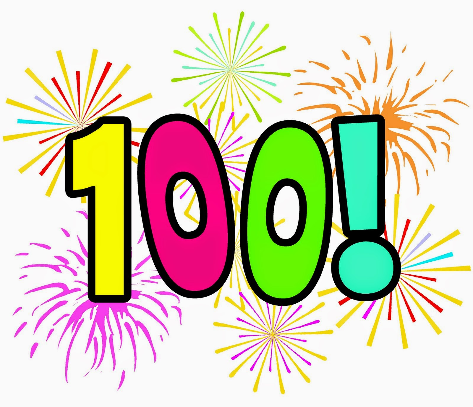 100 Day Clipart Free.