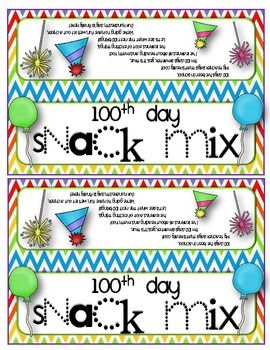 17 Best images about 100th Day on Pinterest.