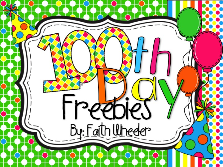 100 Day Clipart.