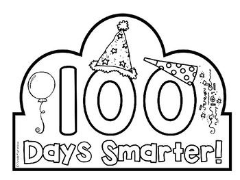 100th Day of School Headband / Crown FREEBIE.