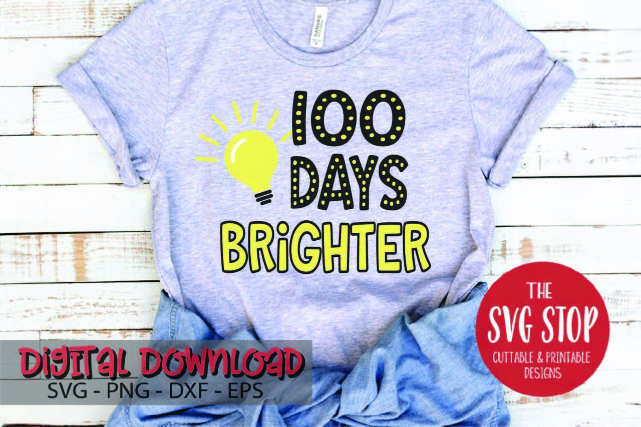 100 Days Brighter Lightbulb.