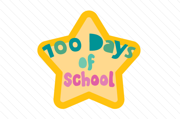 Foundation Students 100 Days at School.