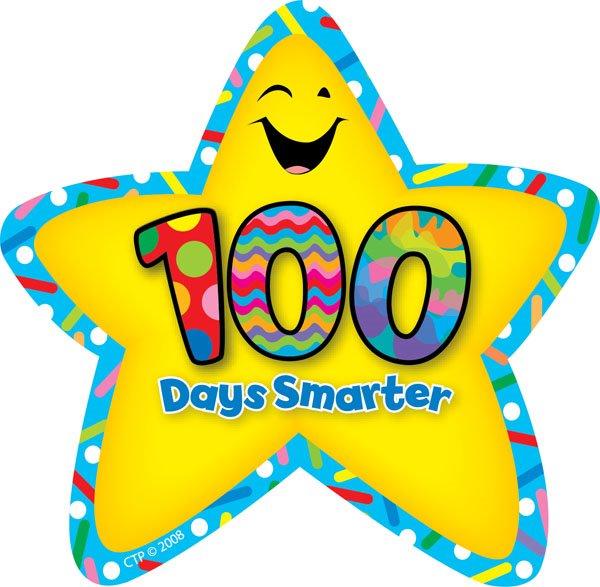 100 Days Of School Clip Art N2 free image.
