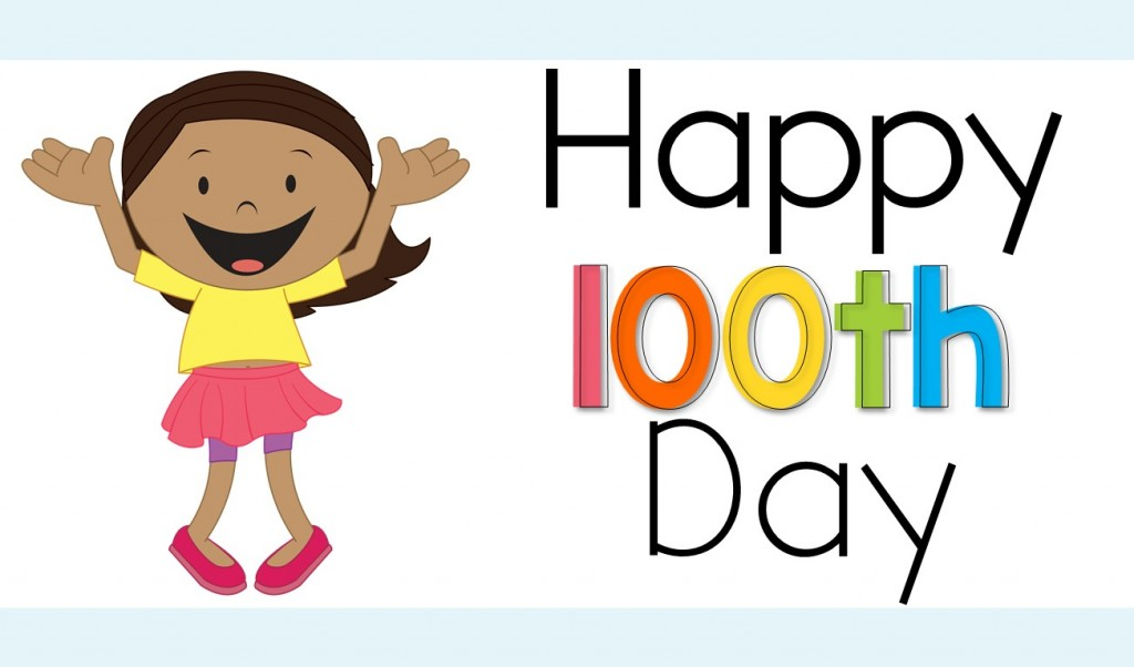 100 Days Of School Clipart.