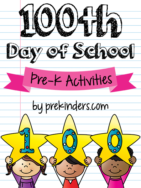 100 Days of School in Pre.