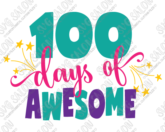 100 days of school clipart 5 » Clipart Station.