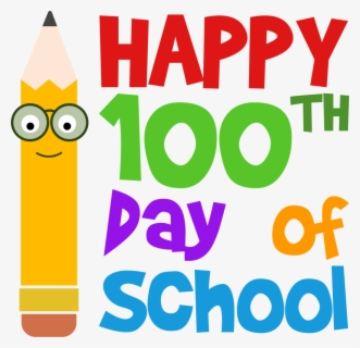 Free 100th Day Of School Clip Art with No Background.
