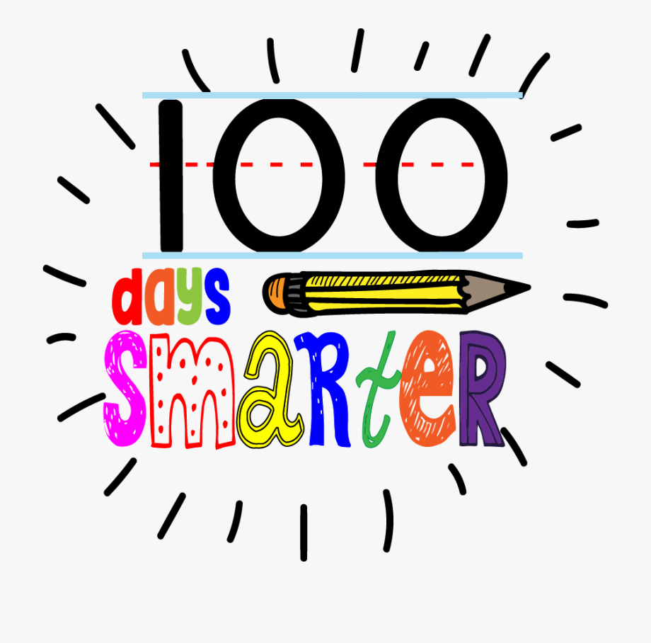 Fun 100th Day Of School Sign.