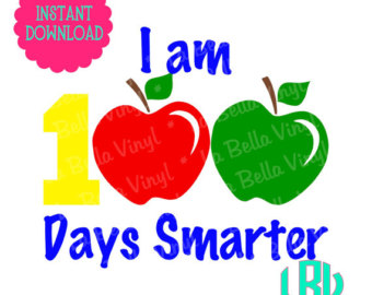 100 Days Of School Clipart Printable.