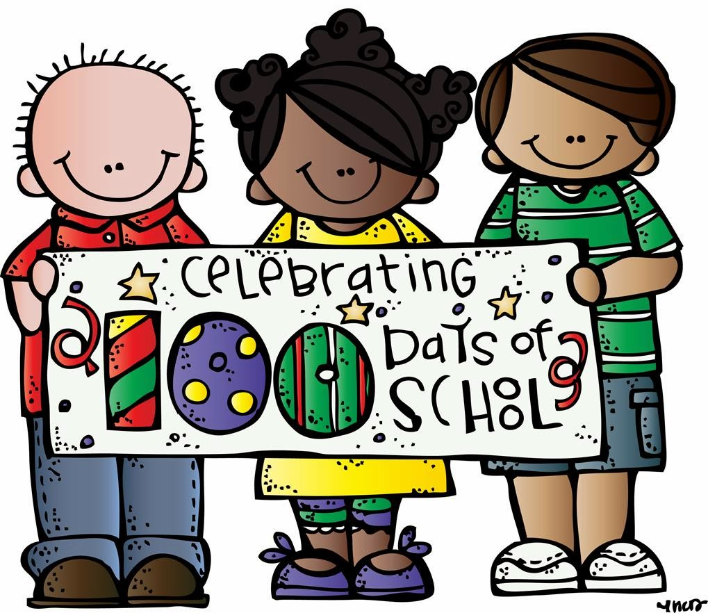 Free 100 Days Of School Clipart on Free 100 Days Of School Clipart Happy 100th Day