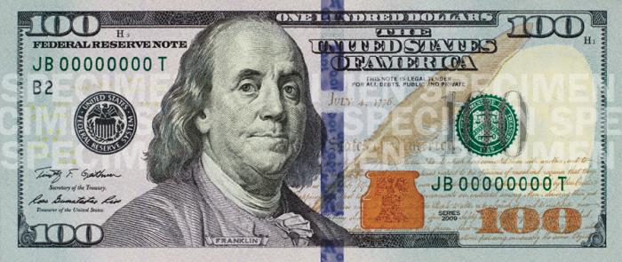 100 Dollar Bills Png 3 Vector, Clipart, PSD.