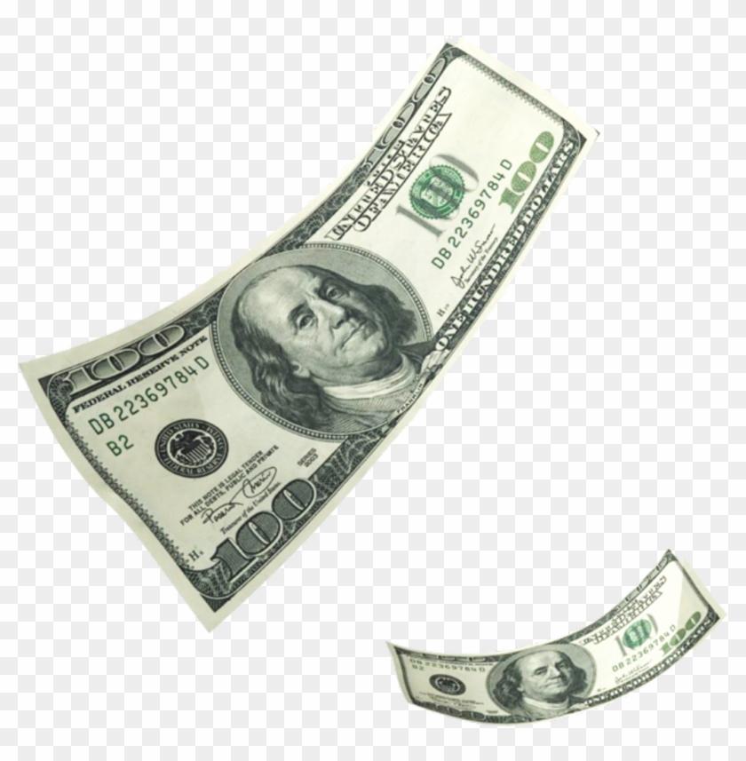 Falling Hundreds 100 Bills Casg.