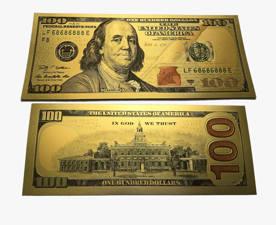 $100 Bill Png.