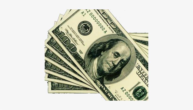 100 Dollar Bills Png.