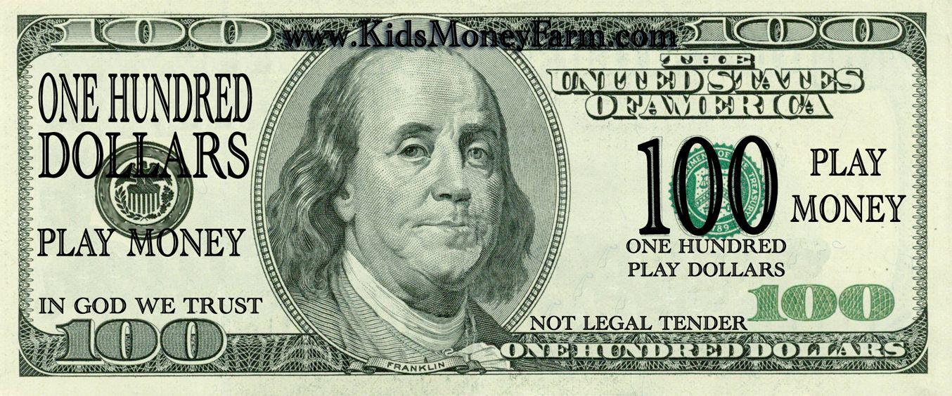 Money clipart $100 for free download and use images in presentations.