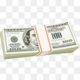 100 Dollar PNG Images.