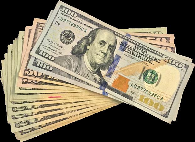 HD 100 Us Dollar Transparent PNG Image Download.