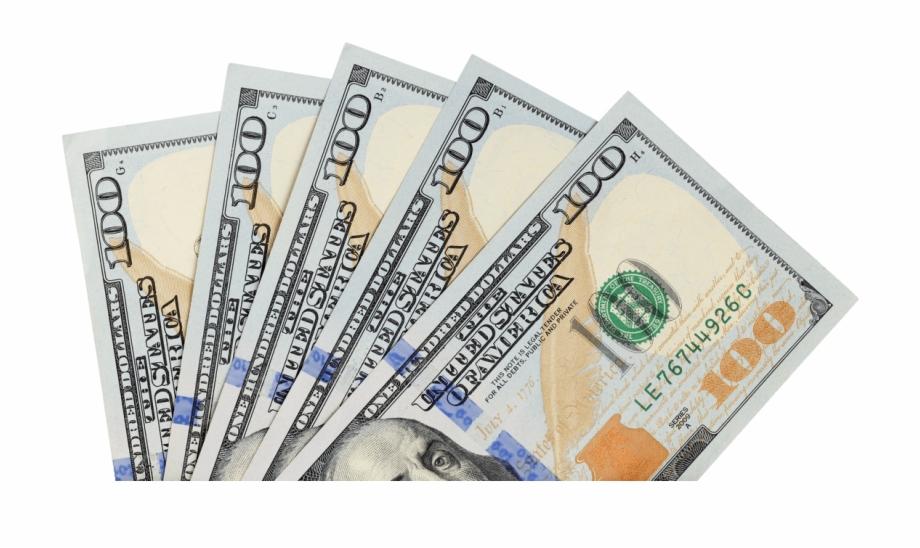 Dollar Transparent Hundred.