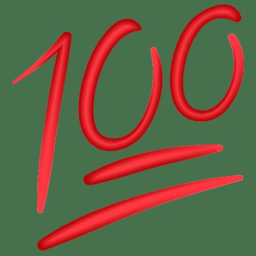 100 emoji clipart 4 » Clipart Portal.