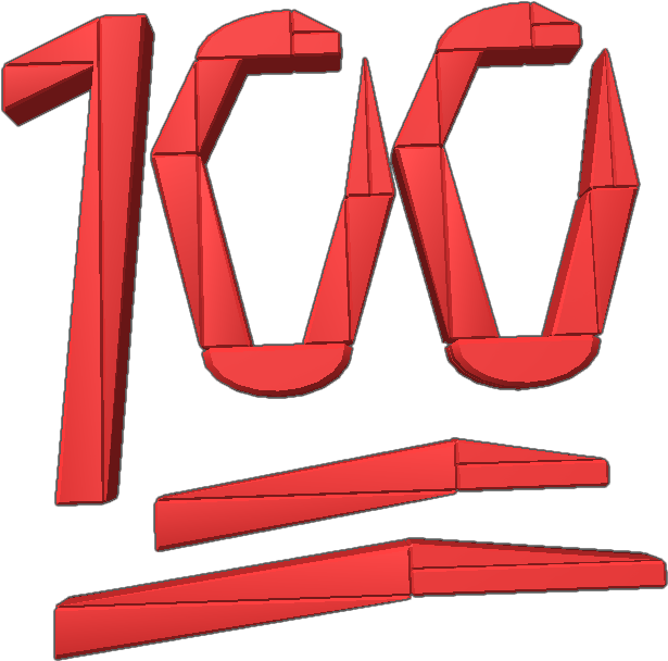 Emoji 100 Png (+).