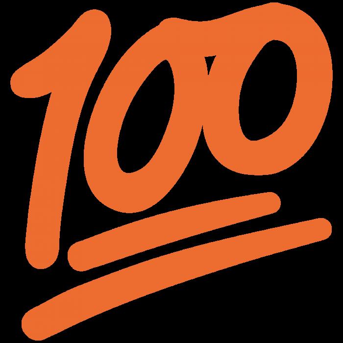 100 Emoji Png 7 Vector, Clipart, PSD.