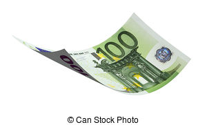 100 euro banknote Clip Art and Stock Illustrations. 252 100 euro.
